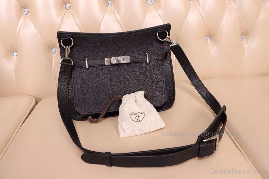 High Replica Hermes Jypsiere 31 Bag Black