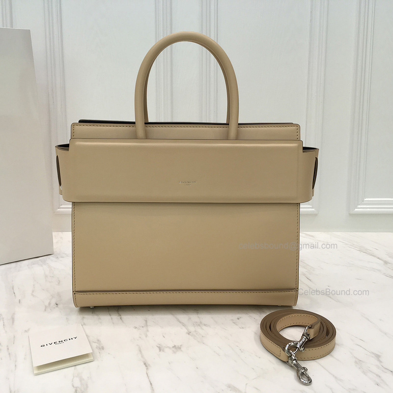 Ultimate Copy Givenchy Horizon Small Bag in Tan Smooth Calfskin