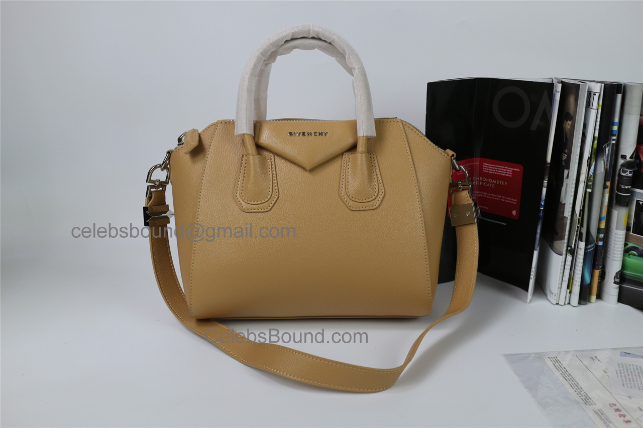 Replica Givenchy Antigona Skin Color Lambskin Medium Bag