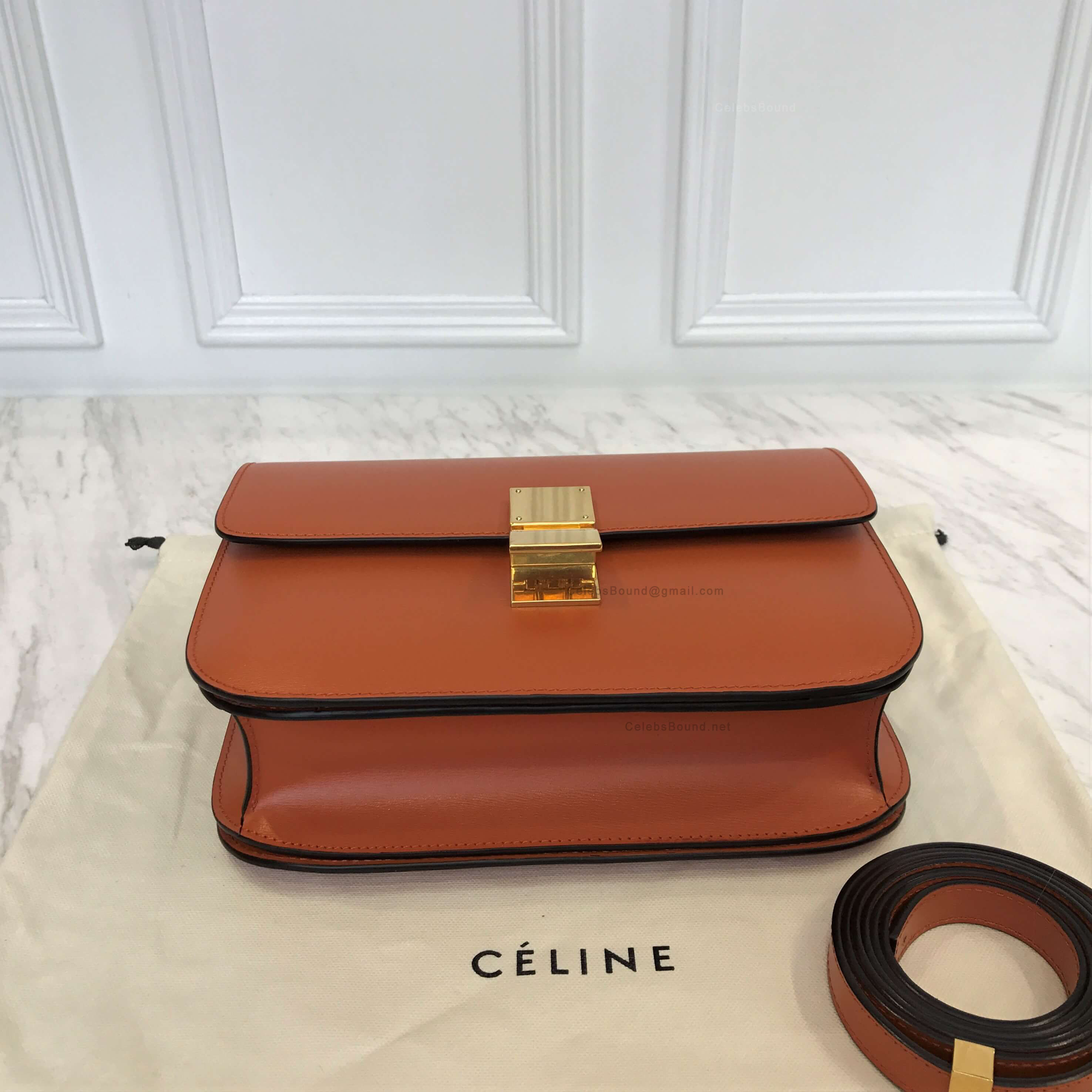 0f3558287722 ... Celine Classic Box Bag Medium in Tawny Liege Calfskin best authentic  b43c7 da465 . ...