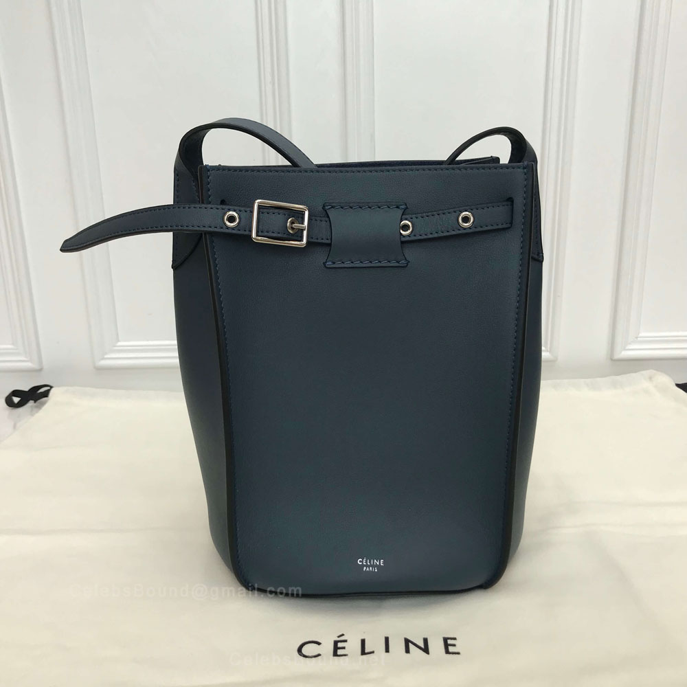 Celine Big Bag Bucket With Long Strap in Cloud Soft Bare Calfskin