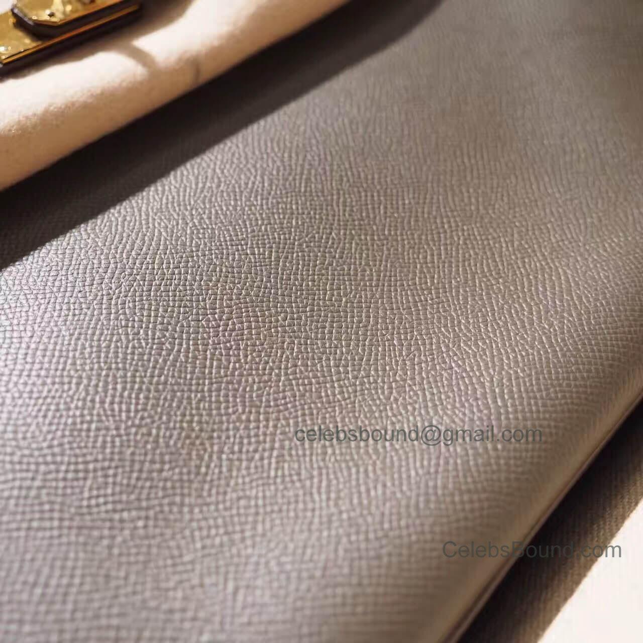 6de1348bc18d Hermes Birkin 30 Handbag in 8f Etain Epsom GHW -