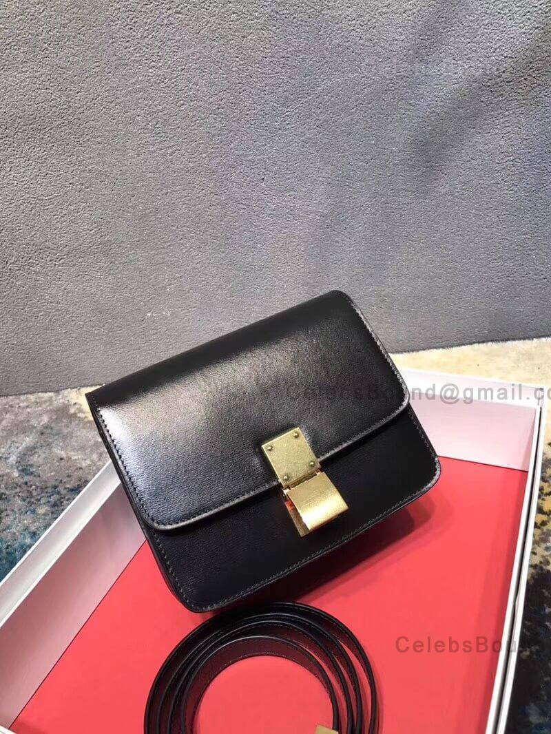 6abd10df0b2d Celine Classic Box Bag Small in Black Liege Calfskin -